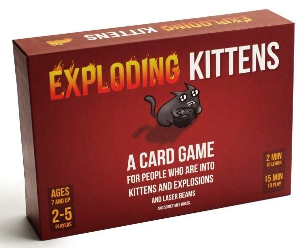 Exploding Kittens: A Card Game About Kittens and Explosions... Only $20!