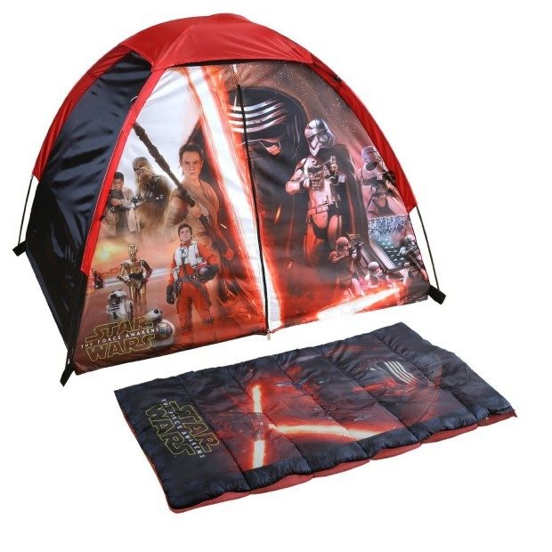 Exxel Star Wars Discovery Kit (Tent & Sleeping Bag) Only $15.46! (Reg. $42)
