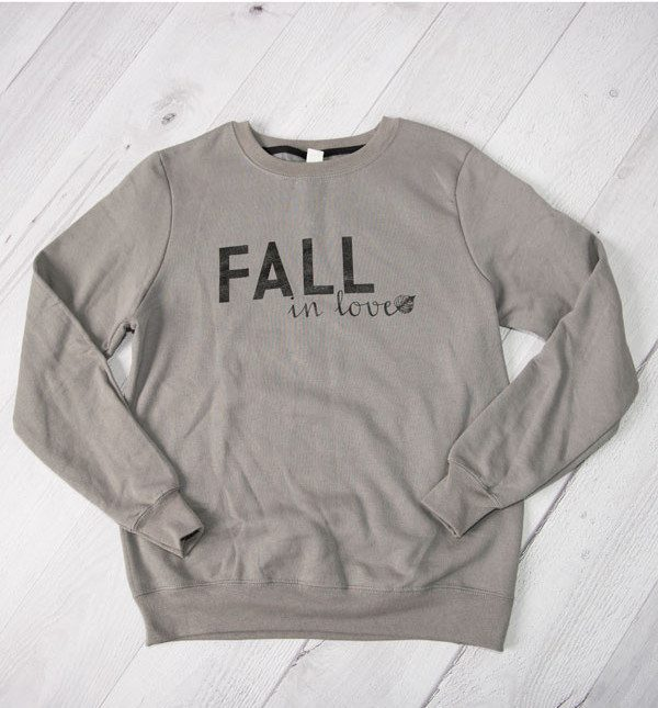 Fall In Love Sweatshirt Only $39.99 Ships FREE!
