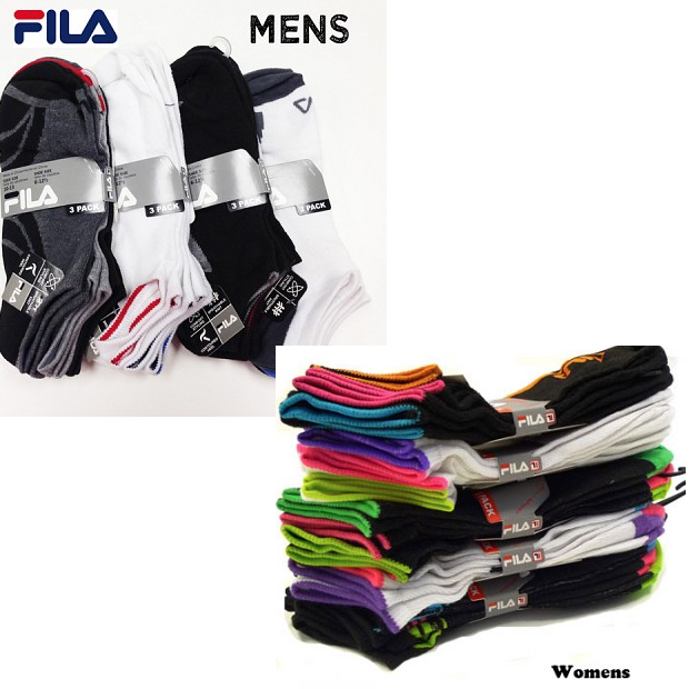 Fila Performance No Show Socks 12 Pr Only $12.99 Ships FREE!