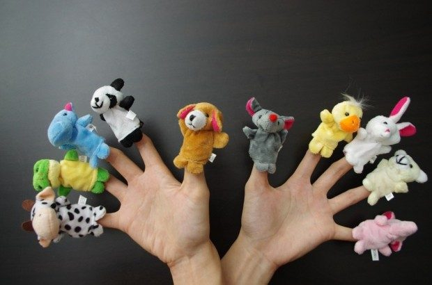 Combo Set Of 10 Story Teller Finger Puppets Only $9.99!