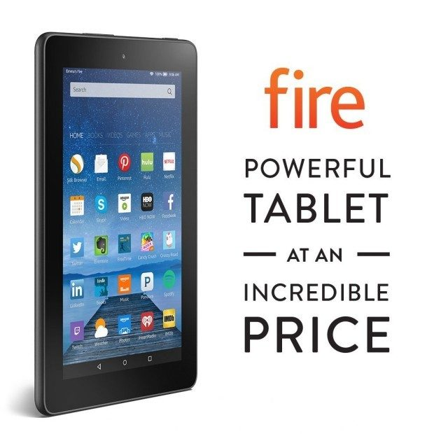 "Fire 7"" 8 GB - Includes Special Offers Only $49!"