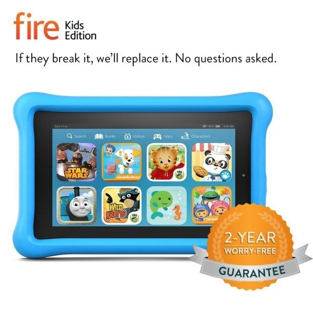 Fire Kids Edition - Kid-Proof Case Just $99!  Ships FREE!