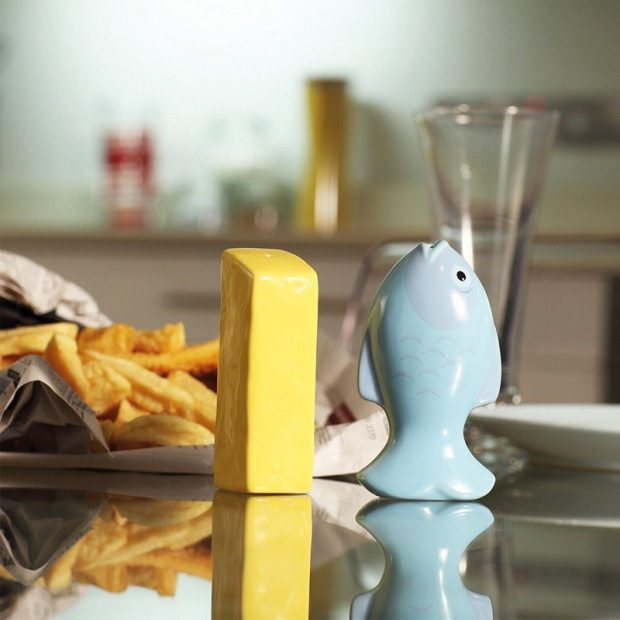 Fish and Chip Salt and Pepper Shakers Only $5.99 Ships FREE!