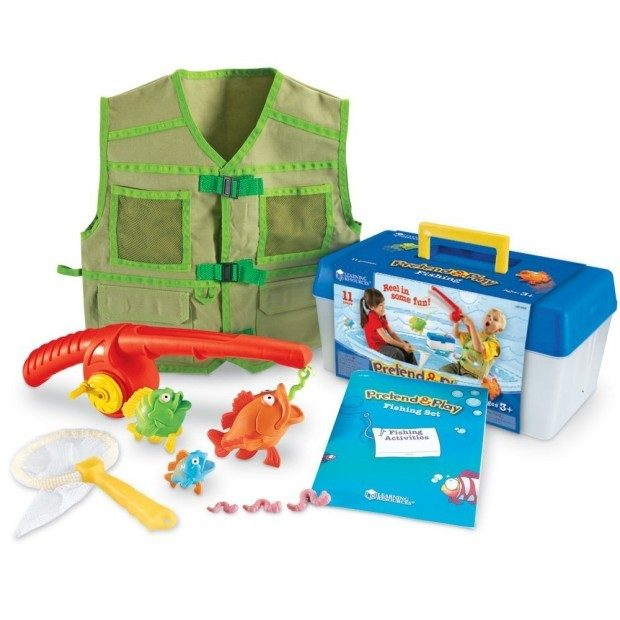 Prime Exclusive! Pretend & Play Fishing Set Just $15.33! (Reg. $28)
