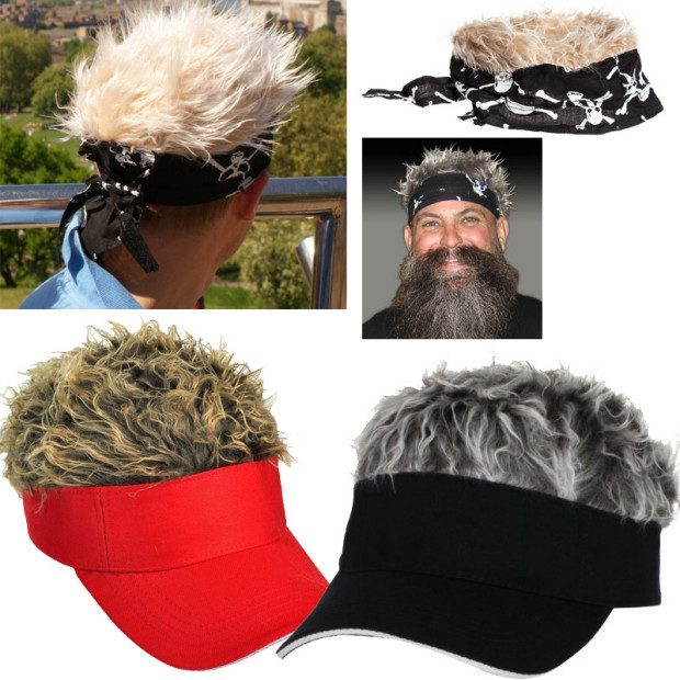 Flair Hair Bandana Or Visor Just $4.99 Ships FREE!