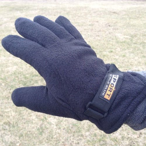 Polar Fleece Gloves - 3pk Just $5.99! Ship FREE!