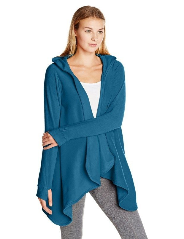 Cuddl Duds Women's Fleecewear with Stretch Hooded Wrap Cozy Just $29.99!