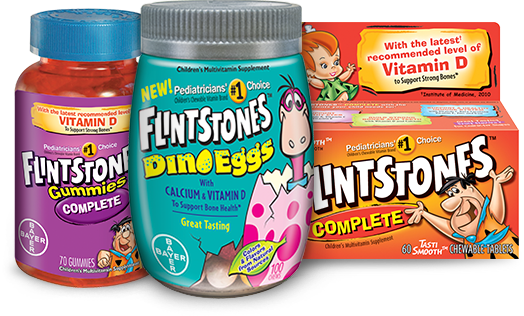 FREE $1.00 Off Coupon Any Flintstones Multivitamin Or Supplement!