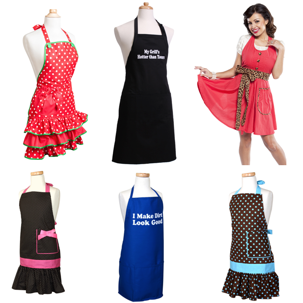 65% Off + FREE Shipping - Kids' Aprons Under $7, Women's Aprons Under $10!