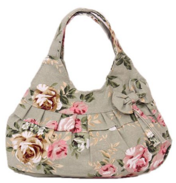 Ruffles Floral Printed Hobo Tote Handbag Just $10 Down From $17!