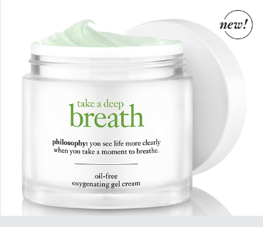 FREE Take A Deep Breath Oil-Free Oxygenating Gel Cream Sample!