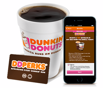 Free $5.00 Dunkin' Donuts Gift Card!