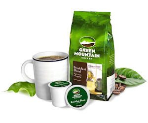 FREE Green Mountain Coffee K-cup Sample!