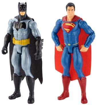 Dawn of Justice Batman & Superman Figure 2 Pk Just $15.99 (Was $20)!