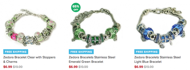 Zedora Murano Charm Bracelets Only $6.99 Plus FREE Shipping!