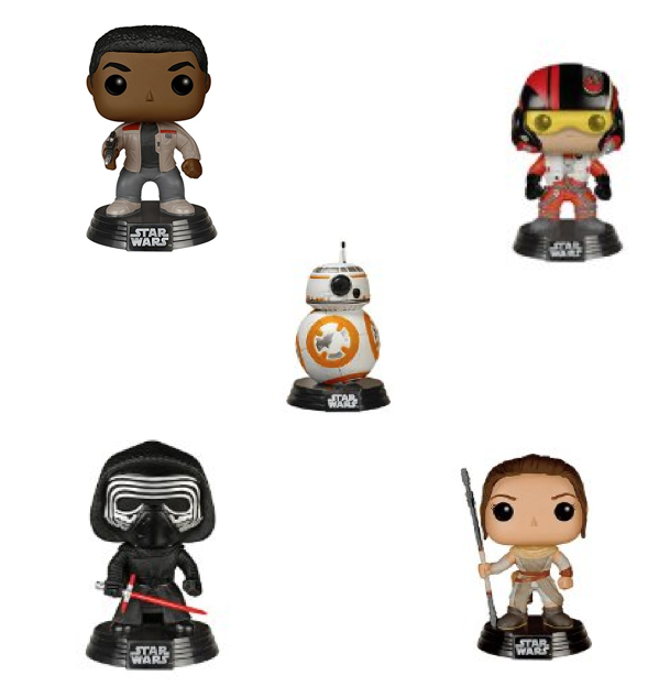 FunKo Pop! The Force Awakens - Characters Start At Just $7.38! (Reg. $13)