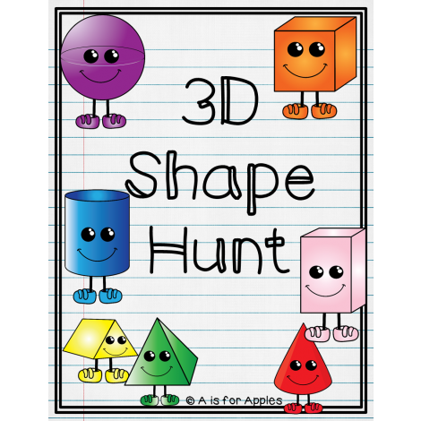 FREE 3D Shape Hunt!