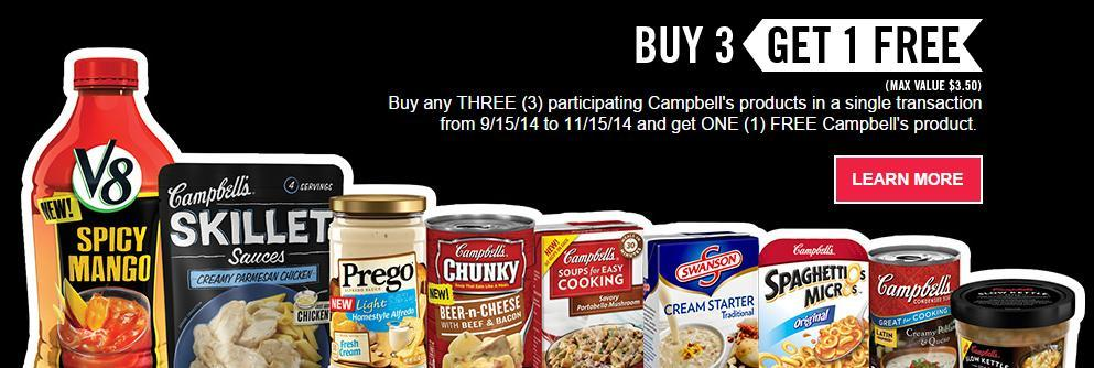 free campbell's product