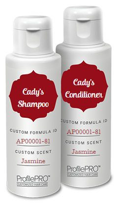 FREE Personalized Shampoo And Conditioner!