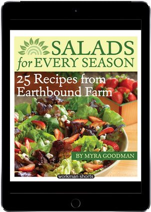 FREE Salads For Every Season: 25 Recipes From Earthbound Farms E-Book!