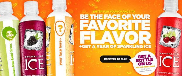 FREE Bottle Of Sparkling Ice!
