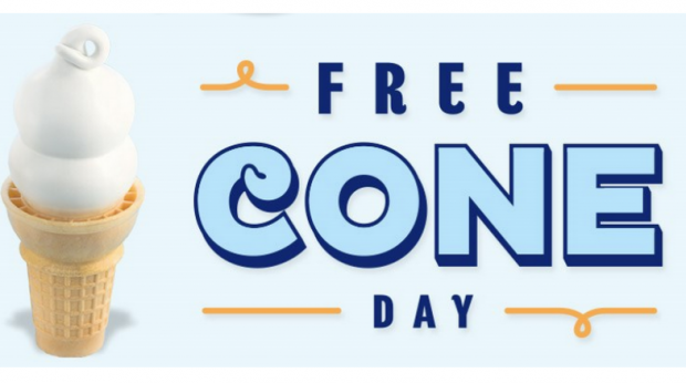 FREE Cone Day On Tuesday, March 15 At Dairy Queen!