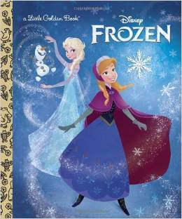 frozen little golden book