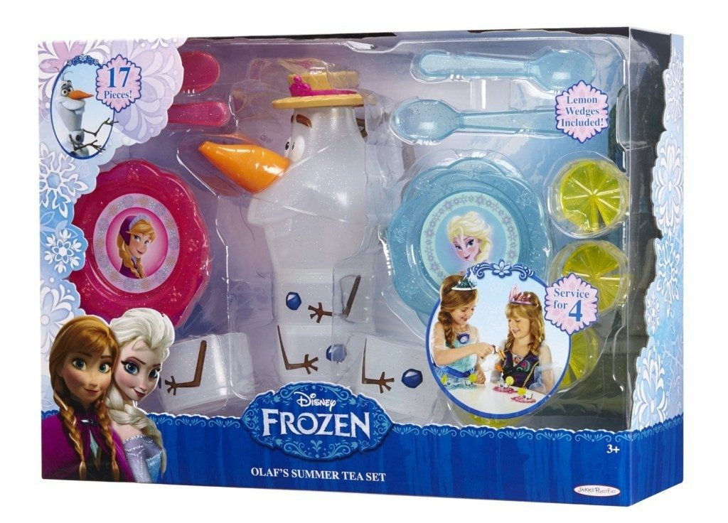disney frozen's olaf's summer tea set