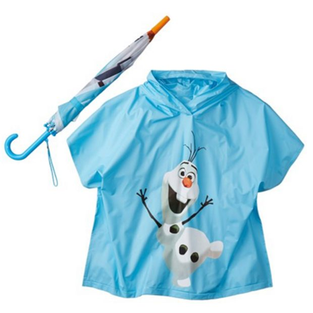 Berkshire Boys' Frozen Olaf Umbrella and Poncho Set Only $10.67 (Reg. $40)!