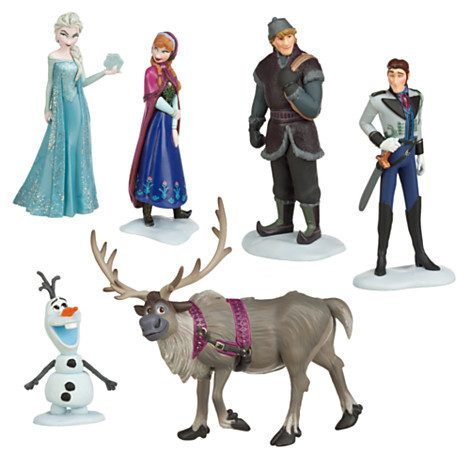 Frozen Figure 6 Pc Set Just $9.88! Ships FREE!