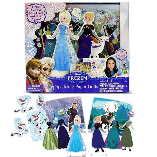 Disney Frozen Sparkling Paper Dolls Just $4.44! (Reg. $13)