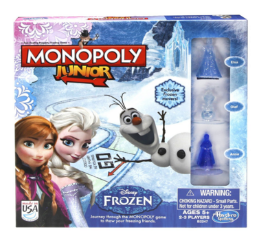 Monopoly Junior Game Frozen Edition Just $11.21 Down From $17!