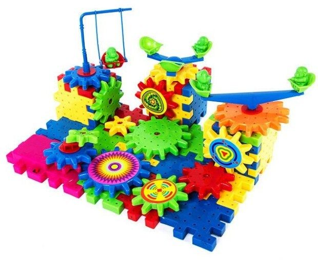 Krazy Gears Interlocking Learning Blocks Only $17 Shipped!
