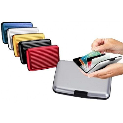 Durable Water Resistant RFID Aluminum Wallet Only $5 Plus FREE Shipping!