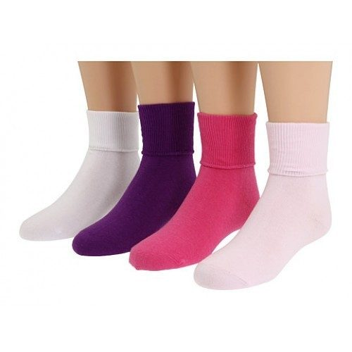 9 Pairs: J.C. Penny Girls White and Colored Bobbie Socks Only $8.99 Plus FREE Shipping!