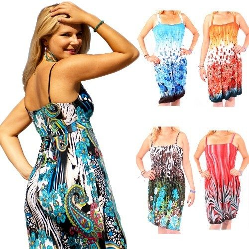 Floral Print Beach Cover-Up Dresses 4 Pk Only $29.99 Plus FREE Shipping!