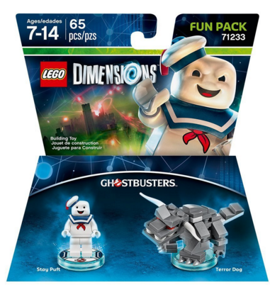 Ghostbusters Stay Puft Fun Pack - LEGO Dimensions Just $7.50 Down From $15!