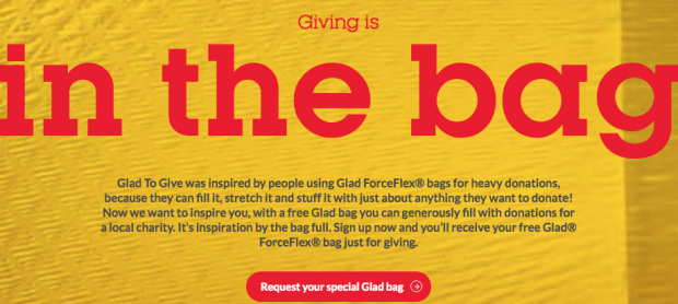 FREE Glad Force Flex Bag!