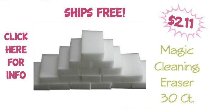 Generic Magic Cleaning Eraser 30 Ct. Just $2.11! Ships FREE!