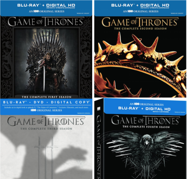 Game Of Thrones Seasons 1-4 Collection Up To 67% Off!