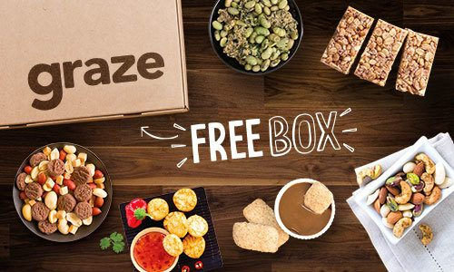 Graze - First Snack Box FREE!