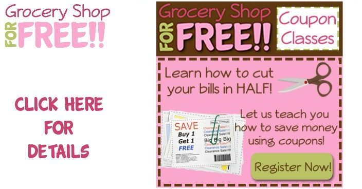 FREE LIVE Online Couponing Classes!  TODAY!