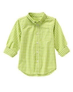 Boys' Checked Button Up Shirt Only $14.98!
