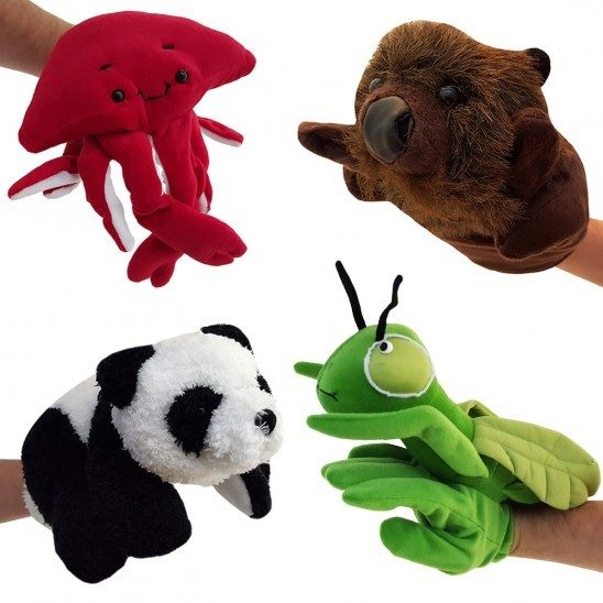 Adorable Animal Hand Puppets Just $3.99! Down From $20! Ships FREE!