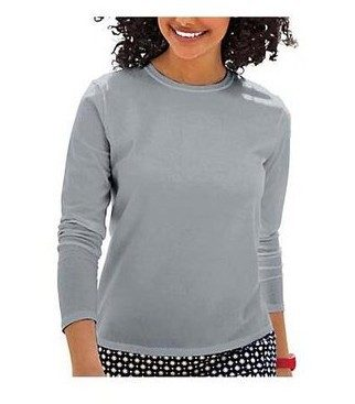Hanes Women's Long-Sleeve T-Shirt Just $4.95!