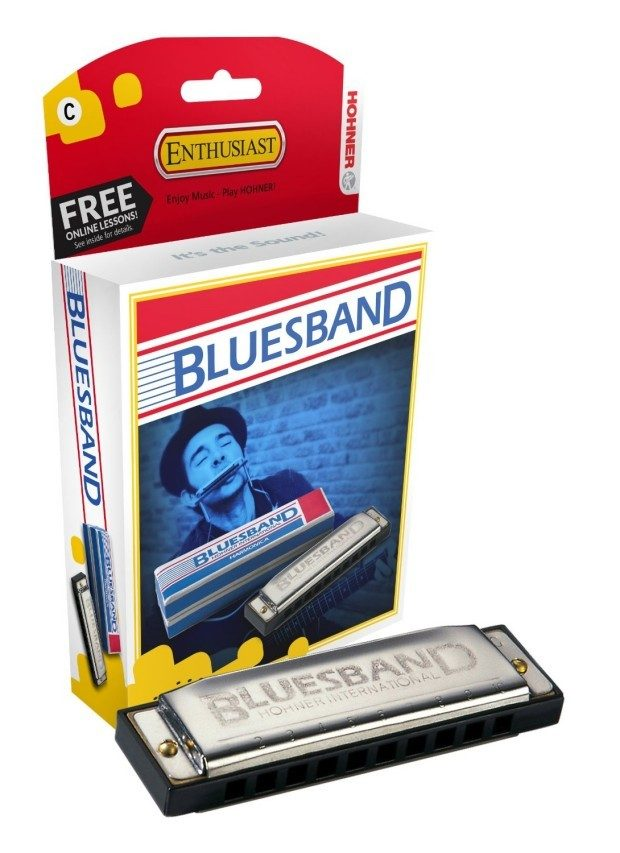 Hohner Bluesband Harmonica, Key of G, Only $5.31!