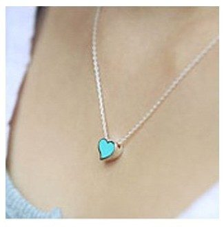 Heart-Shaped Necklaces - Set of 3 - Just $2.07 Shipped!