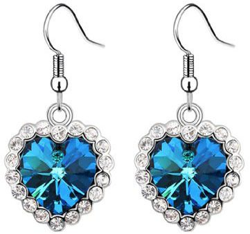 Gorgeous Heart of Ocean Earrings Only $3.08 + FREE Shipping!