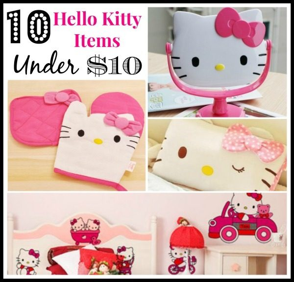 10 Hello Kitty Items Under $10 + FREE Shipping!